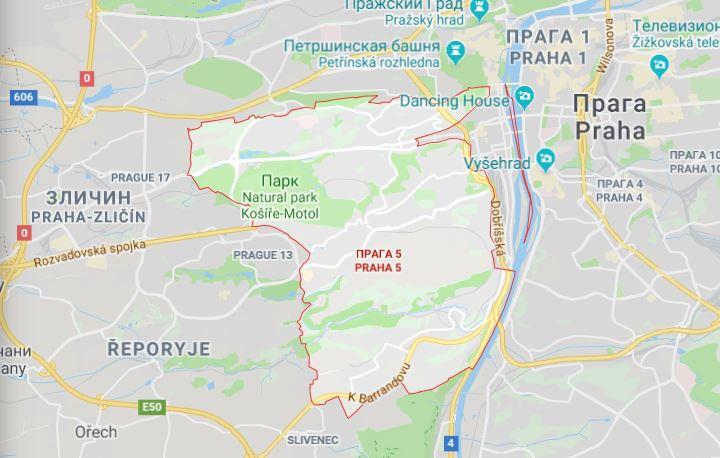 Район Прага-5