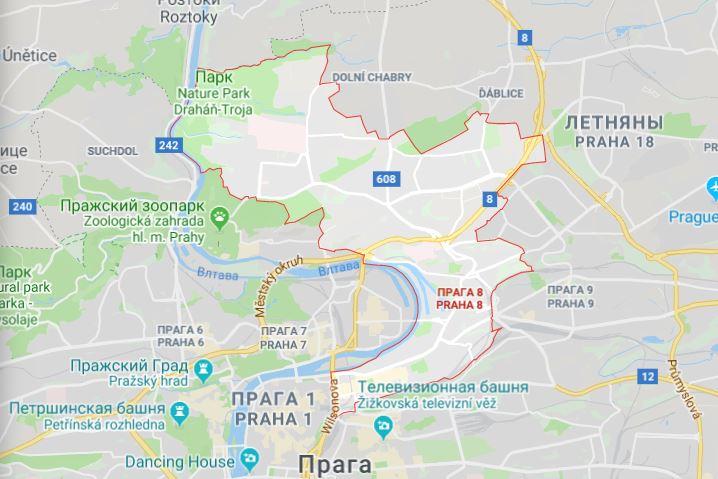 Район Прага-8