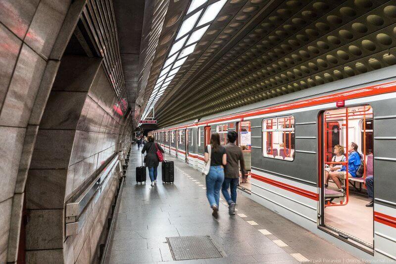 Подземка в Праге