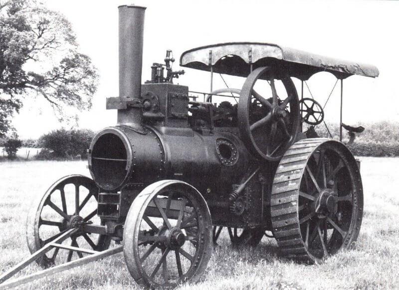 Первый трактор в  Мангейме