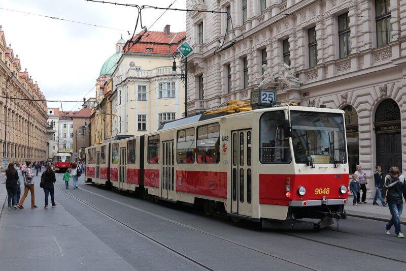 Трамваи Праги