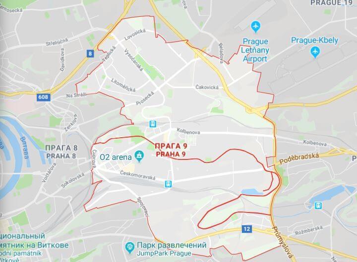 Район Прага-9