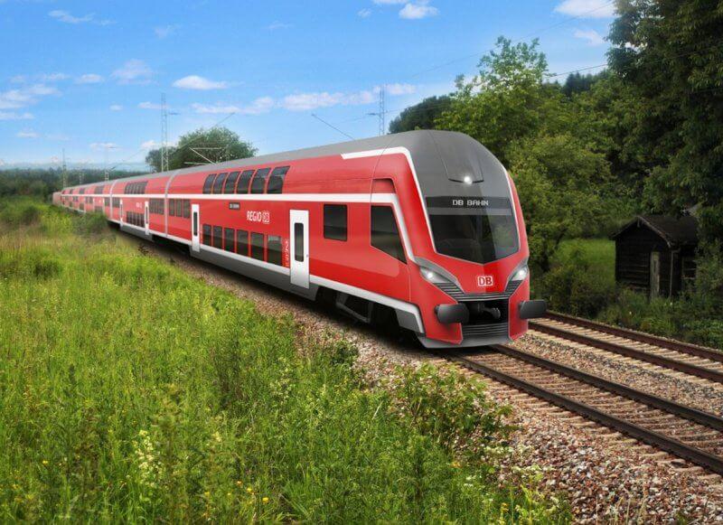 Поезд в Ганновер