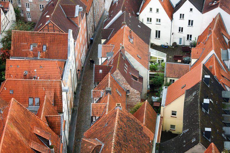 Вид на город Любек