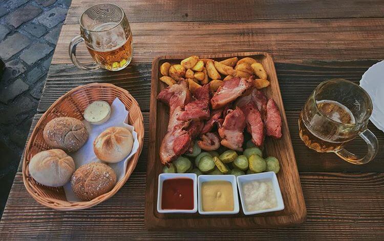 Блюдо в GastroBar 1402 Praha