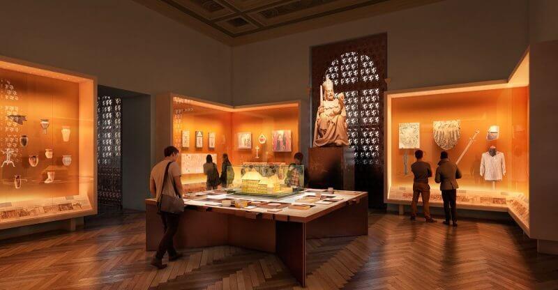 Зал в Национальном музее Праги