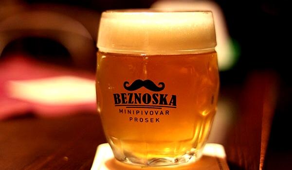 Пиво в Minipivovar Beznoska, Penzion Školička
