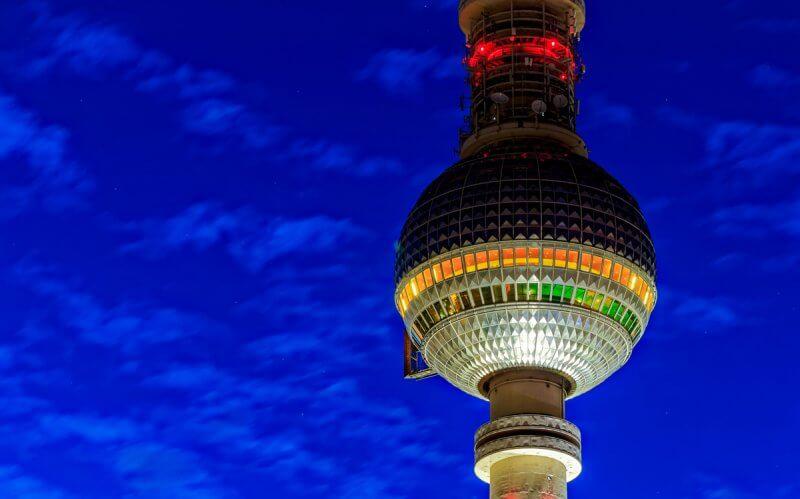 Шар Берлинской телебашни