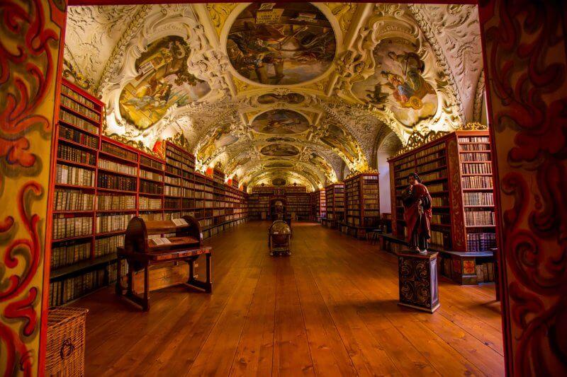 Зал в библиотеке Клементинум, Прага