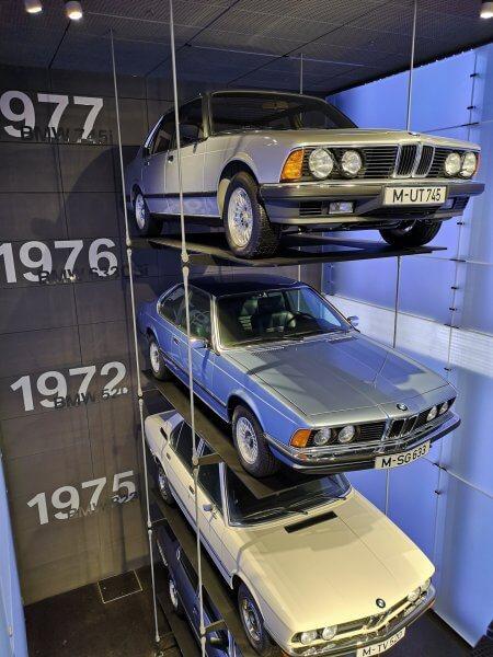 Экспозиция музея БМВ