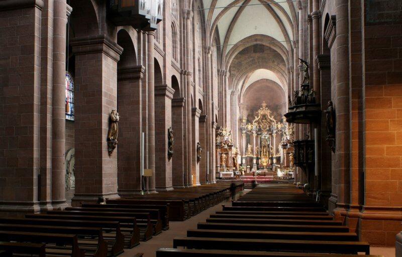 Кафедральный собор Св. Мартина внутри