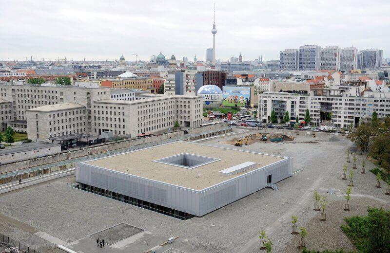 Вид сверху на музей