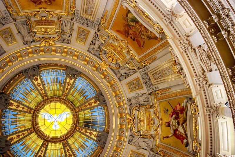Купол в соборе