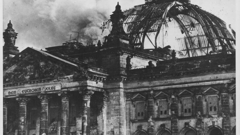 Пожар в Рейхстаге