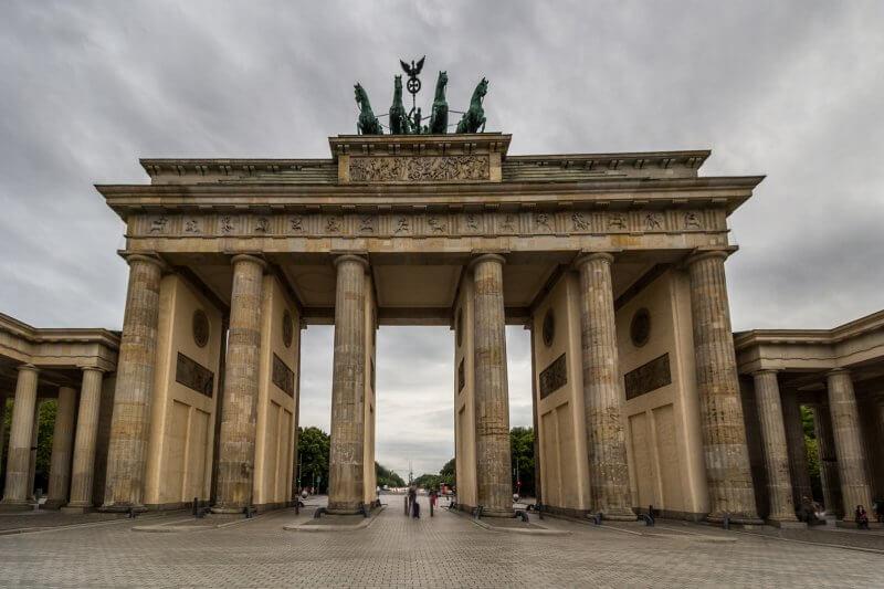 Бранденбургские ворота в Германии