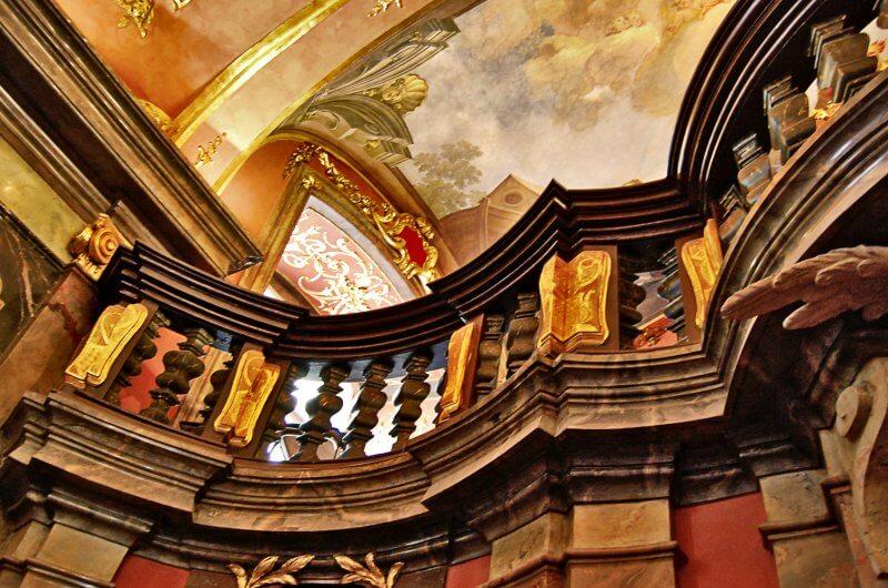 Декор библиотеки Клементинум, Прага
