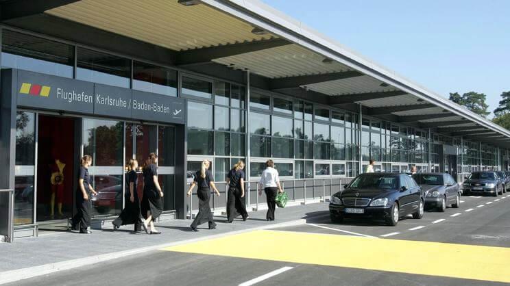 Аэропорт в Карлсруэ