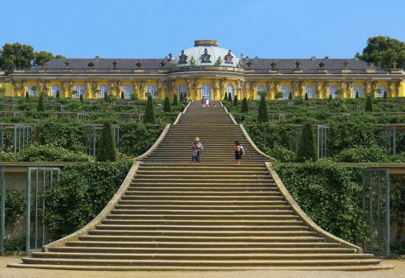 Дворец в Потсдаме