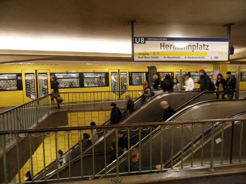 Эскалаторы в метро