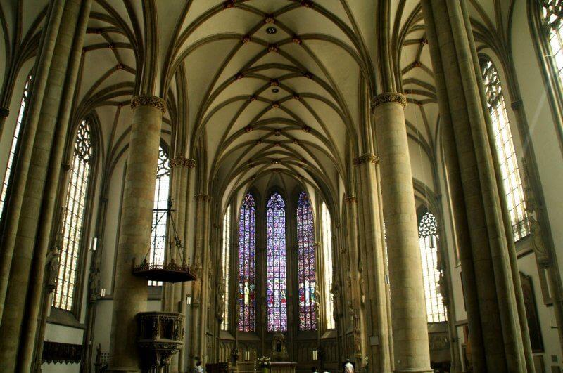 Церковь Святого Ламберта внутри