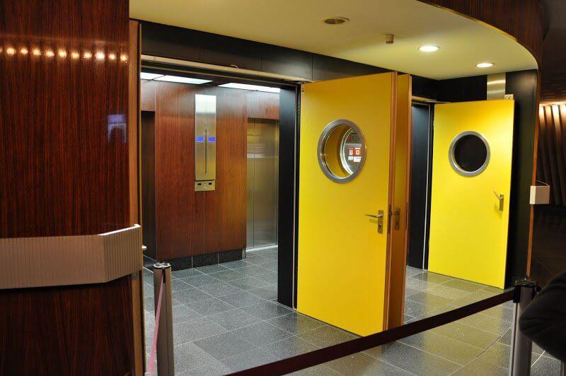 Лифты в Берлинской телебашне
