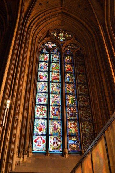 Витражи в Кёльнском соборе