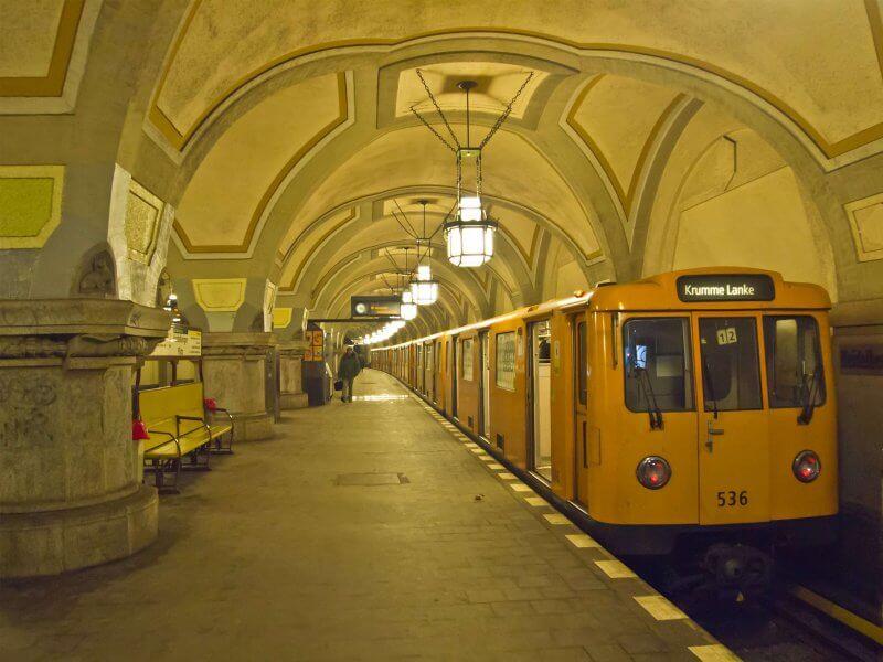 Старое метро Берлина