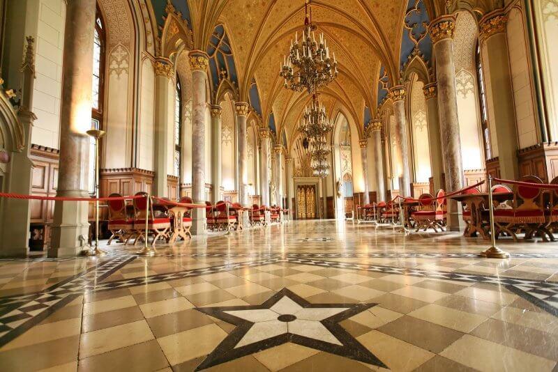 Зал в замке Гогенцоллерн