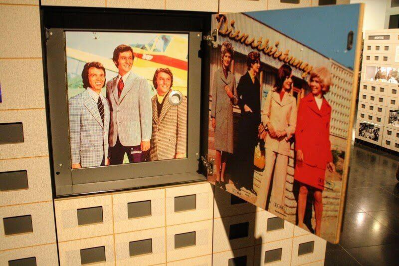 Экспозиция музея ГДР