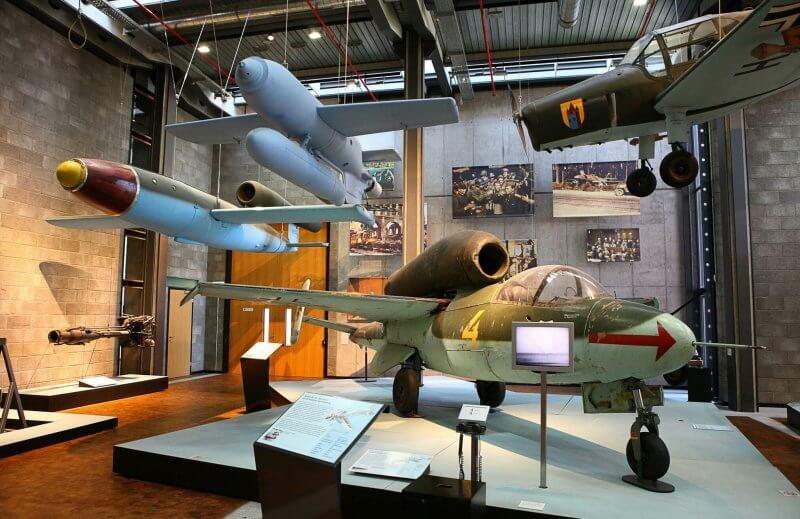 Немецкий технический музей, зал авиатехники