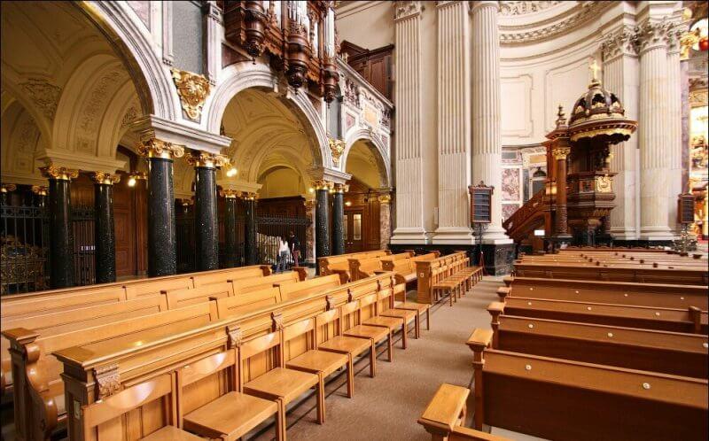 Зал в соборе