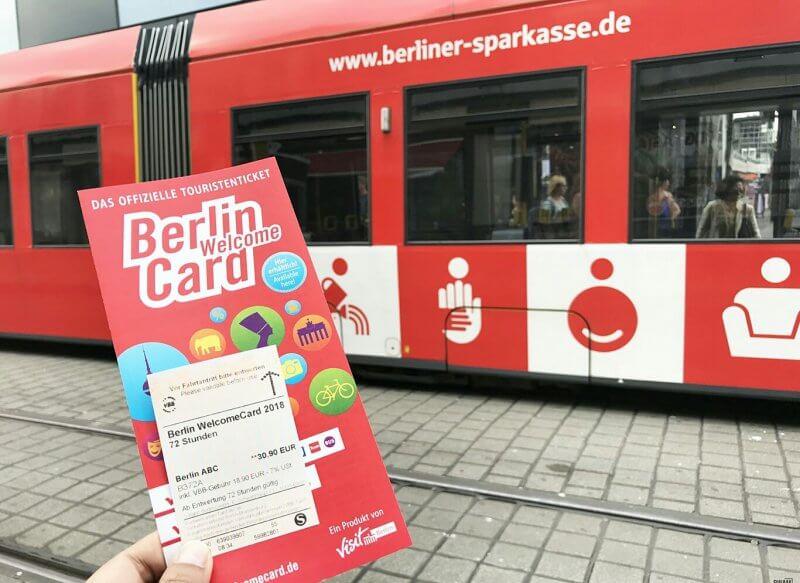 Проездной Berlin Welcome Card