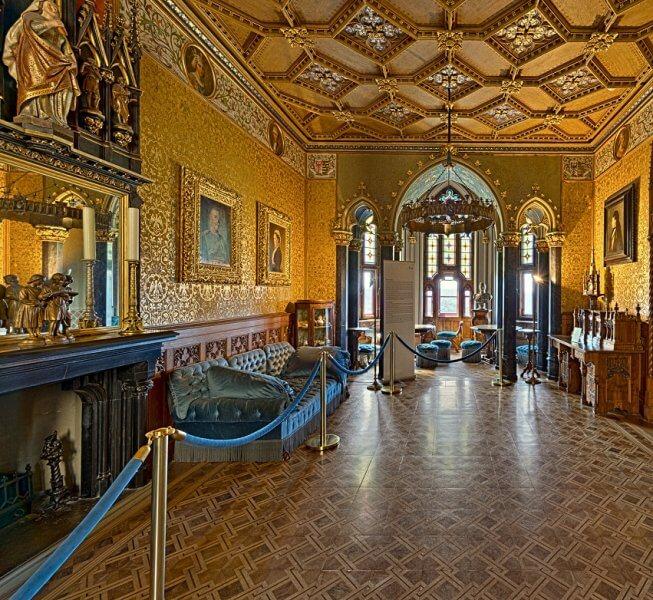 Золотой зал в замке Гогенцоллерн