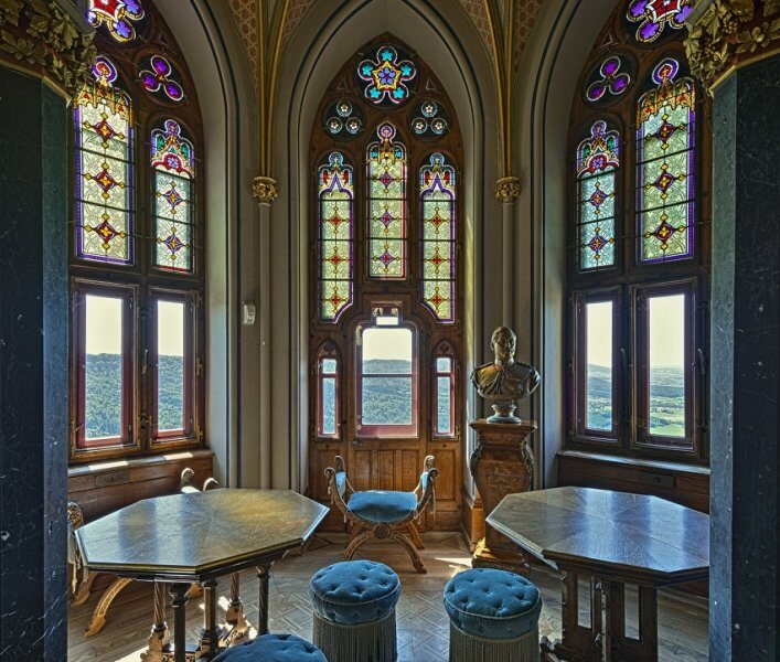 Комната в замке Гогенцоллерн