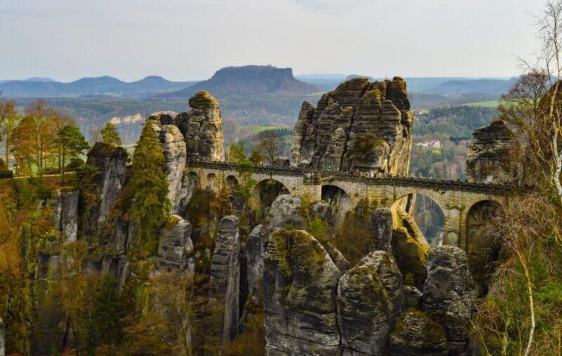 Мост к замку Фалкенштайн