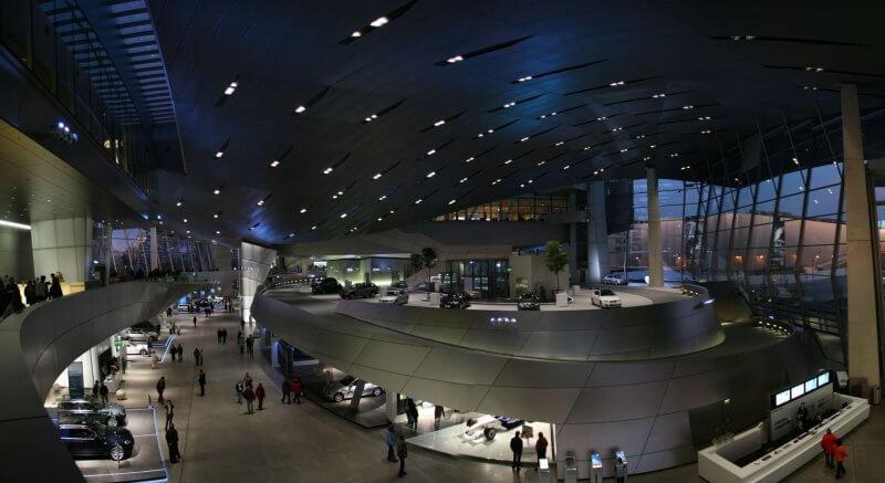 Экспозиция в музе  BMW