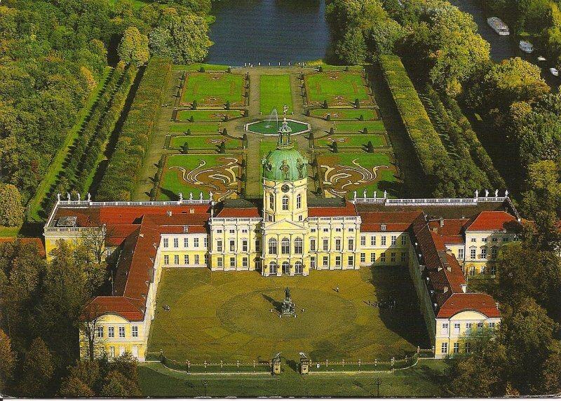 Дворец Шарлоттенбург сверху