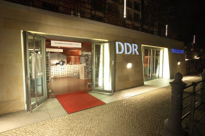 Вход в музей ГДР
