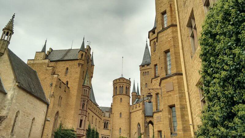 Вход в замок Гогенцоллерн