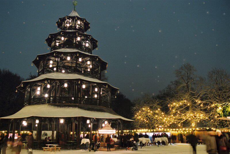 Пивной сад около Китайской башни