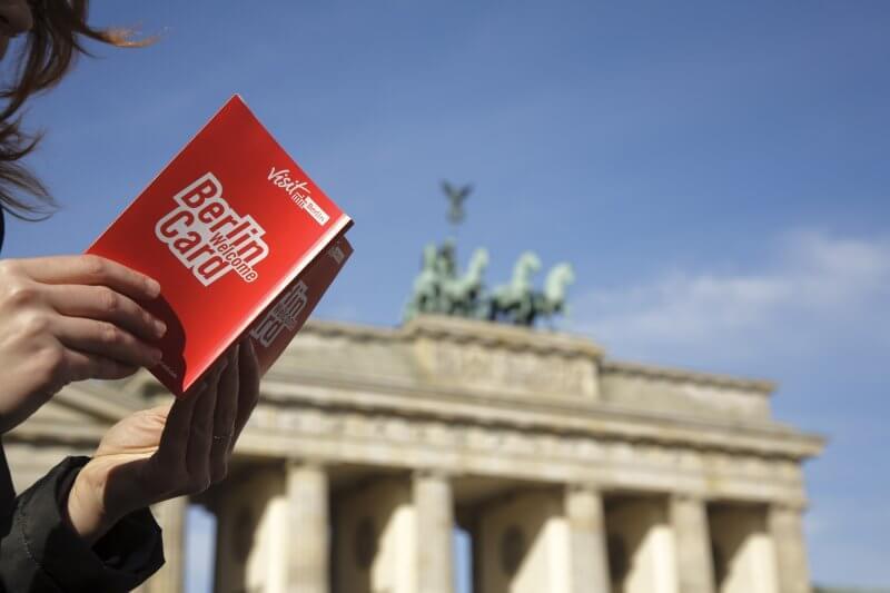 Буклет Berlin Welcome card