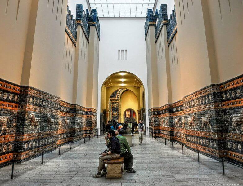 Зал в Пергамском музее