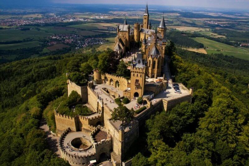 Замок Гогенцоллерн в Германии