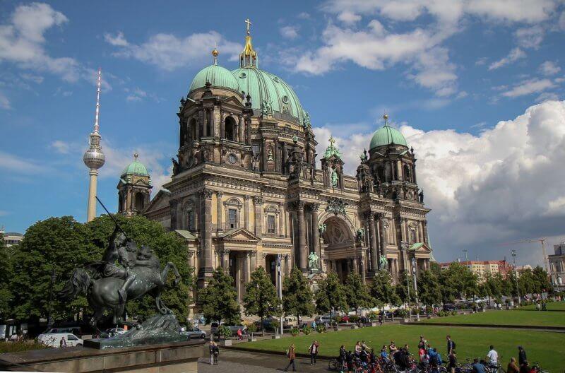 Вид на Берлинский собор
