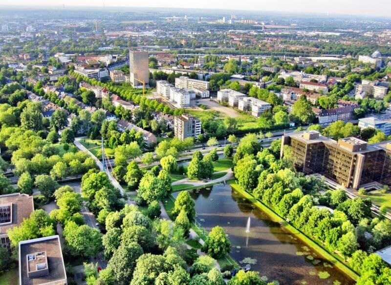 Вестфаленпарк, Германия