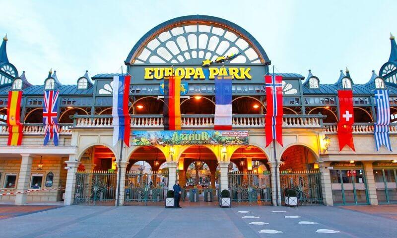 Вход в Европа-Парке