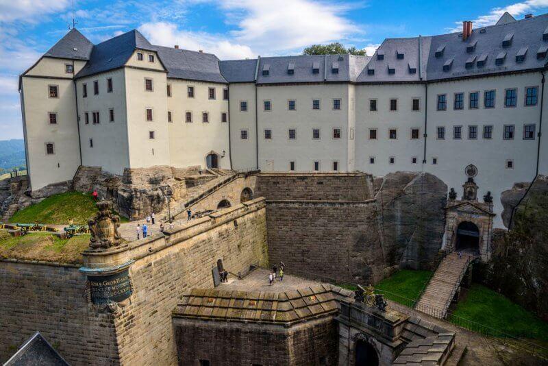 Крепость Кёнигштайн