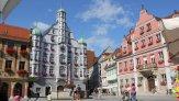 Мемминген – симпатичный старинный город на юге Германии