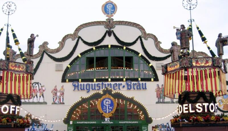 Пивной шатёр Augustiner Festhalle