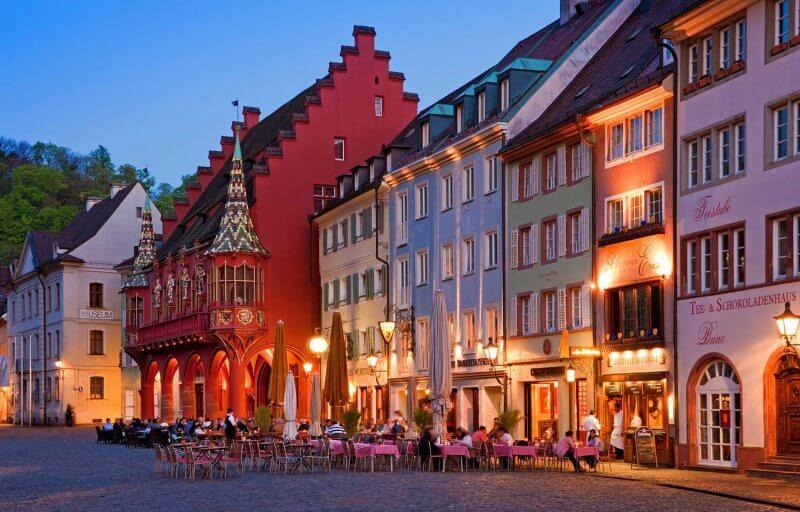 Вечерний Фрайбург